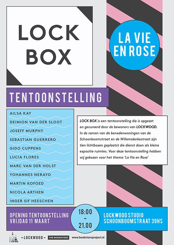 LOCKBOX #2 // LA VIE EN ROSE